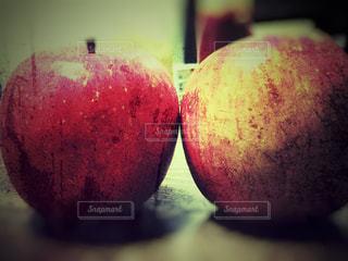 赤,りんご