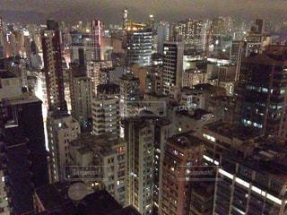 香港の夜景の写真・画像素材[796870]