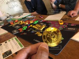 ビットコインゲームの写真・画像素材[796872]