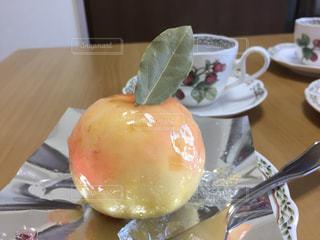 ケーキ,フルーツ,桃