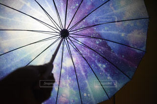 開いている傘の写真・画像素材[797651]