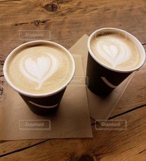 飲み物,カフェ,ハート,旅行,ハートマーク,カフェラテ,休日,ドリンク,マーク,ホットドリンク