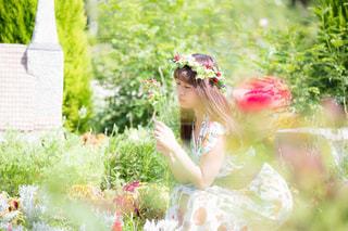 花とわたしの写真・画像素材[893407]