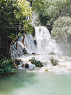 クアンシーの滝の写真・画像素材[799861]