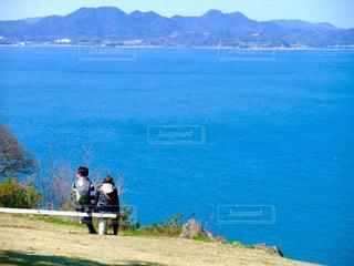 福岡県能古島にての写真・画像素材[851323]