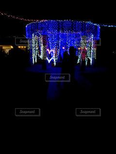 夜,綺麗,光,イルミネーション,ハート,クリスマス,デート,点灯