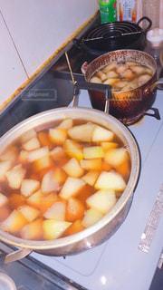 温まる晩ご飯。の写真・画像素材[803167]