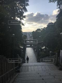 光の道,宮地嶽神社