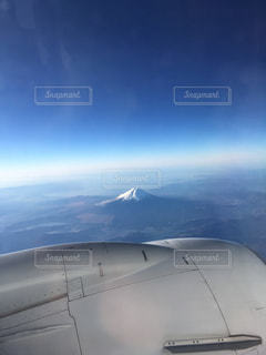 元旦の富士山の写真・画像素材[802861]