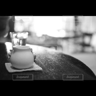 カフェでの一枚の写真・画像素材[851660]