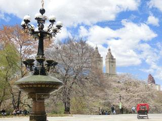 春,ニューヨーク,アメリカ,旅行,噴水,NY,セントラルパーク