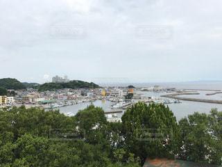展望台から港の写真・画像素材[810561]