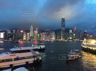 夜景,海外,旅行,香港,休日,お出かけ