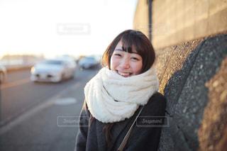 微笑む女の子の写真・画像素材[858574]
