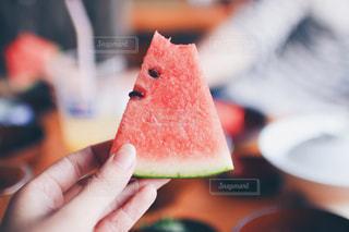 夏のスイカ。の写真・画像素材[1222882]