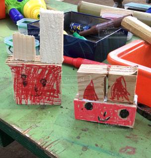 公園,うさぎ,DIY,工作,5歳,プレーパーク,ノコギリ,うさちゃん,木工,子供の工作