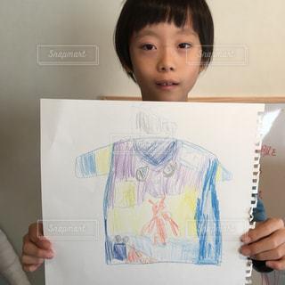 Tシャツ,色鉛筆,色えんぴつ,スケッチブック