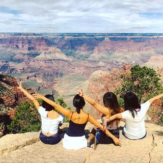 アメリカ,砂漠,荒野,グランドキャニオン