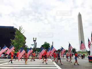 アメリカ,パレード,DC,fourth of July