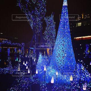クリスマスイルミネーションの写真・画像素材[815074]