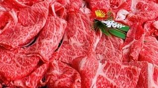 美味しそうな肉(寿小物つき)の写真・画像素材[3583029]