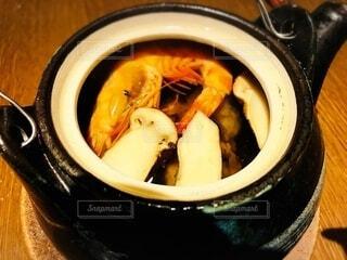 秋の味覚の土瓶蒸しの写真・画像素材[3710652]