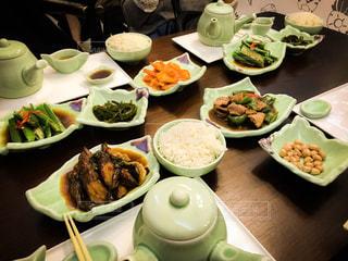 食事,皿,スープ,ご飯,肉,オクラ,中国,エビ,上海,ナス,soup