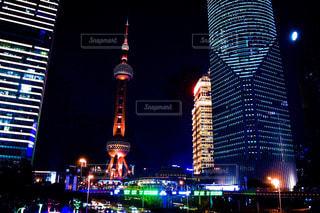 東方明珠電視塔。の写真・画像素材[942387]