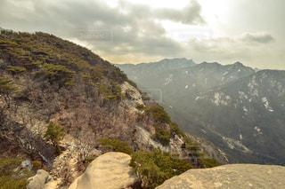 北漢山の山頂。の写真・画像素材[1031634]