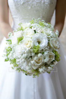 植物の白い花の写真・画像素材[941721]