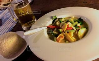 タイ,バンコク,グリーンカレー,シンハービール,ESS Deck (EAT SIGHT STORY)