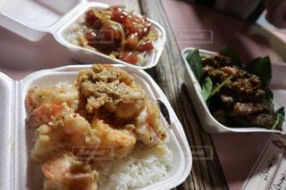 ハワイ Hawaii サム屋 sam's kitchin,ジャンク ステーキ ガーリックシュリンプ 屋台,ポキ ポキ丼