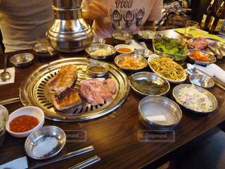 焼き肉の写真・画像素材[875388]