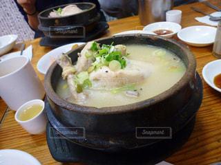 参鶏湯の写真・画像素材[875390]
