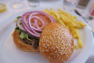 ハンバーガーの写真・画像素材[876041]