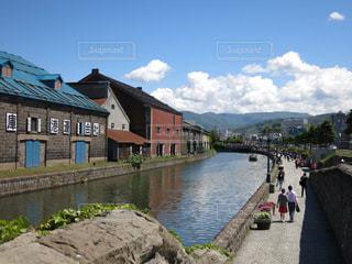 小樽運河の写真・画像素材[889519]