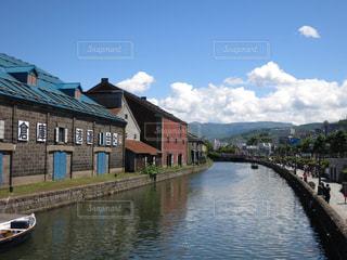 小樽運河の写真・画像素材[889531]
