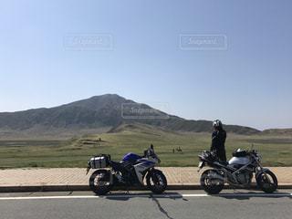 バイク,熊本,阿蘇,ツーリング,草千里