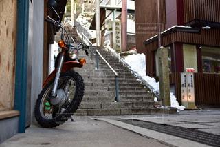 冬,バイク,群馬,伊香保,伊香保温泉