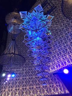 夜,夜景,青空,タワー,クリスマス,点灯,綺麗な