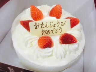 バースデーケーキの写真・画像素材[820554]