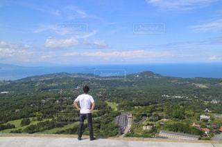 大室山からの景色の写真・画像素材[987434]