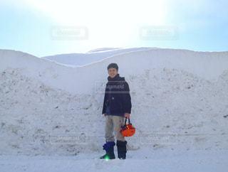 雪の壁☃️ - No.1001929