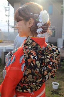 成人式のまとめ髪 - No.1028106
