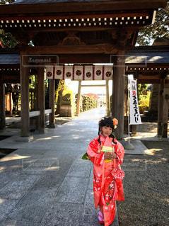 神社にての写真・画像素材[846191]