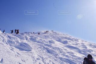 雪山の写真・画像素材[1007790]