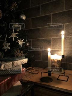 冬,キャンドル,クリスマス,クリスマスツリー,クリスマスプレゼント,ラッピング