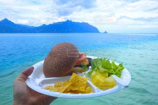 ハンバーガー,ハワイ,サンドバー,天使の海,クルージングツアー