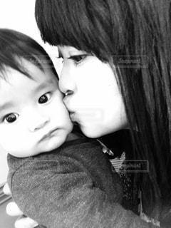 母と子の写真・画像素材[824089]