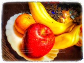 デザート,フルーツ,りんご,みかん,バナナ